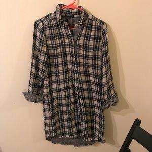 Madewell XS Plaid Dress